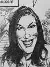 Drawn Picture of Teri Hatcher