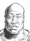 Drawn Picture of Michael Clarke Duncan