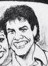 Drawn Picture of Donny Osmond
