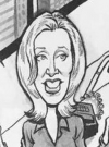 Drawn Picture of Felicity Huffman