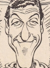 Drawn Picture of Dick van Dyke