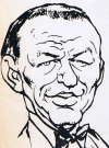 Drawn Picture of Frank Sinatra