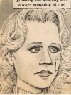 Drawn Picture of Lee Remick