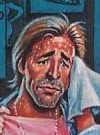 Drawn Picture of Don Johnson
