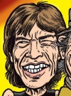 Drawn Picture of Mick Jagger