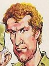 Drawn Picture of Wayne Rogers