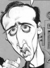 Drawn Picture of Nicolas Cage