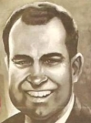 Drawn Picture of Richard Nixon