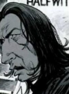 Drawn Picture of Alan Rickman