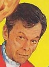 Drawn Picture of DeForest Kelley
