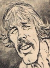Drawn Picture of Nick Nolte