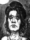 Drawn Picture of Alice Cooper