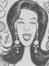 Drawn Picture of Lisa Marie Presley