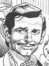 Drawn Picture of Clark Gable