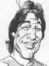 Drawn Picture of Tony Danza