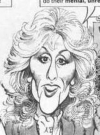 Drawn Picture of Judith Light
