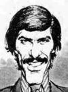Drawn Picture of Mark Spitz