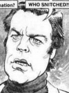 Drawn Picture of Robert Wagner