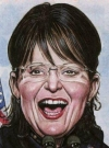 Drawn Picture of Sarah Palin