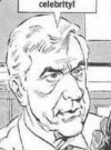Drawn Picture of Leslie Nielsen
