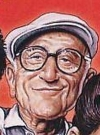 Drawn Picture of Dominic Chianese
