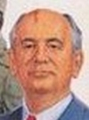 Drawn Picture of Mikhail Gorbachev