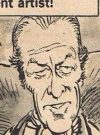 Drawn Picture of Rex Harrison