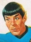 Drawn Picture of Leonard Nimoy