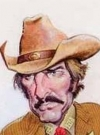 Drawn Picture of Dennis Weaver