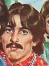 Drawn Picture of George Harrison