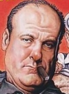 Drawn Picture of James Gandolfini