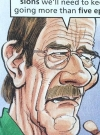 Drawn Picture of Bryan Cranston