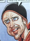 Drawn Picture of Aaron Paul