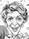 Drawn Picture of Nancy Reagan