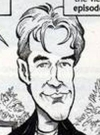 Drawn Picture of James Van Der Beek