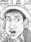 Drawn Picture of Bob Denver