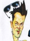 Drawn Picture of Johnny Knoxville