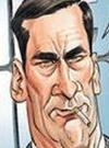 Drawn Picture of Jon Hamm