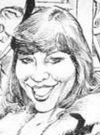 Drawn Picture of Victoria Principal
