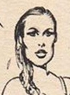 Drawn Picture of Ursula Andress