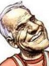 Drawn Picture of Steve Martin