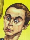 Drawn Picture of Jim Parsons
