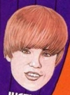 Drawn Picture of Justin Bieber