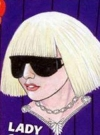 Drawn Picture of Lady Gaga