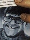 Drawn Picture of Elton John