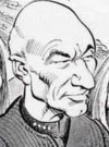 Drawn Picture of Patrick Stewart