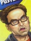 Drawn Picture of Johnny Galecki