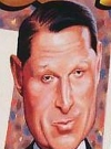 Drawn Picture of Al Gore