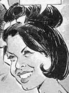 Drawn Picture of Annette Funicello