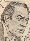 Drawn Picture of Gregory Peck
